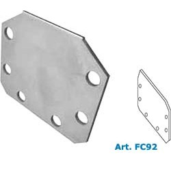 Stainless steel END CAP FLANGE.