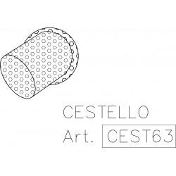 Cestello per scarico Ø 63 mm